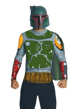 Star Wars Mens Boba Fett Costume