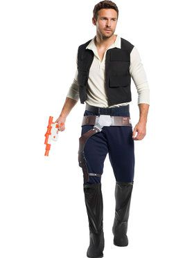 Rebel Collection: Star Wars Classic Han Solo Costume for Men