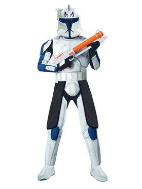 Adult Star Wars Clone Wars Deluxe Captain Rex Costume