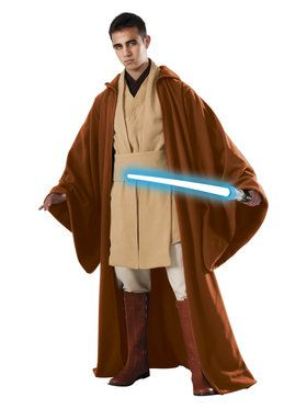 Star Wars Mens Grand Heritage Obi Wan Ke Costume