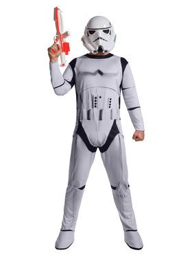 Star Wars Mens H/S Stormtrooper Costume