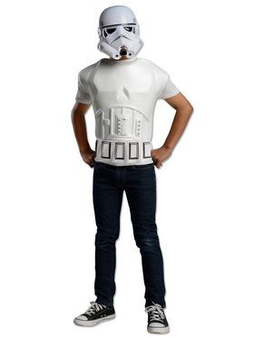 Star Wars Short Sleeve Molded Stormtrooper Costume