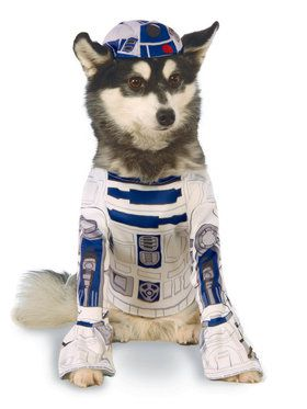 Star Wars Pet R2D2 Costume Small