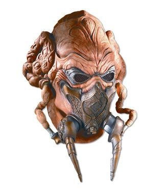 Plo Koon Latex 2018 Halloween Masks for Adults