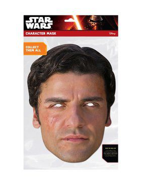 Poe Star Wars Face 2018 Halloween Masks