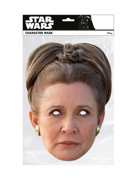 Princess Leia Star Wars Face 2018 Halloween Masks