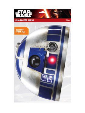 R2-D2 Star Wars Face 2018 Halloween Masks