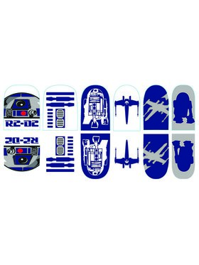 Star Wars R2-D2 Nail Stickers