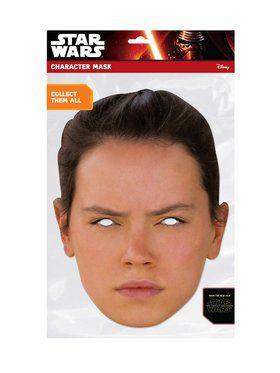 Rey Star Wars Face 2018 Halloween Masks