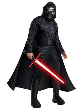 Deluxe Adult Kylo Ren Star Wars Rise of Skywalker Costume