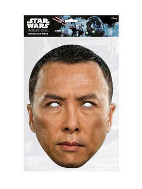 Rogue One Chirrut Star Wars Face 2018 Halloween Masks