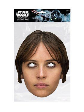 Rogue One Jyn Erso Star Wars Face 2018 Halloween Masks
