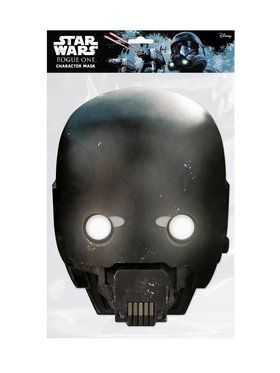 Rogue One K-2SO Star Wars Face 2018 Halloween Masks