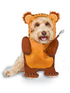 Fur-Baby Running Ewok Pet Costume