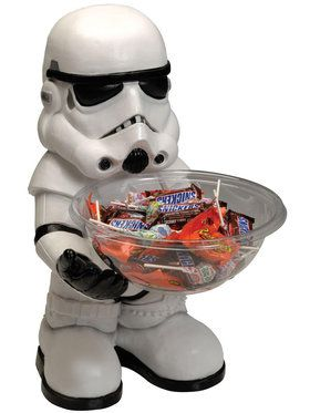 Star Wars Storm Trooper Candy Bowl and Holder