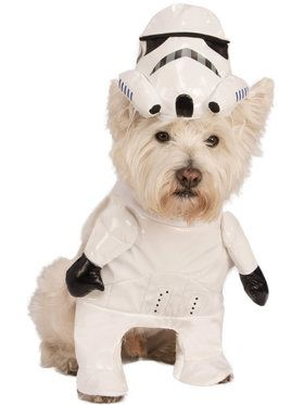 Star Wars Storm Trooper Pet Costume