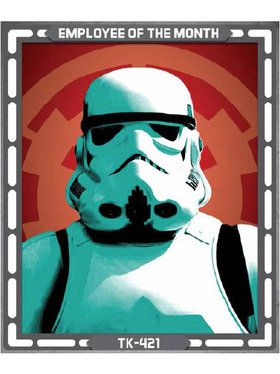 Star Wars Storm Trooper Sign