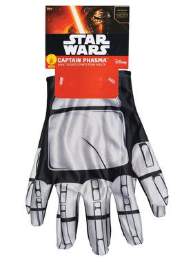Star Wars The Force Awakens Captain Phasma Gloves for Adults