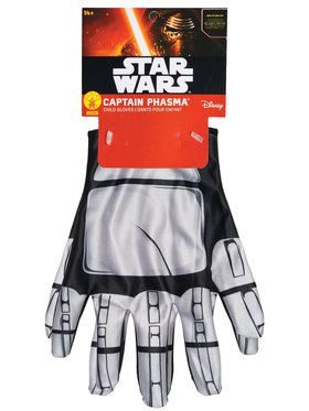 Star Wars: The Force Awakens - Captain Phasma Gloves For Kids