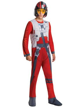 Child Star Wars The Force Awakens Poe Dameron Costume