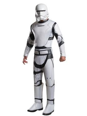 Deluxe Star Wars The Force Awakens Flame Trooper Costume