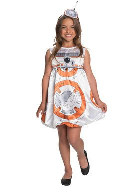 Girl's Star Wars The Force Awakens BB-8 Costume