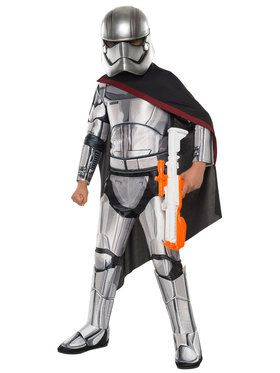 Star Wars: The Force Awakens - Kids Captain Phasma Super Deluxe Costume Small