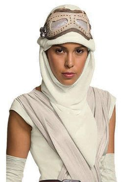 Star Wars The Force Awakens Rey 2018 Halloween Masks for Adults