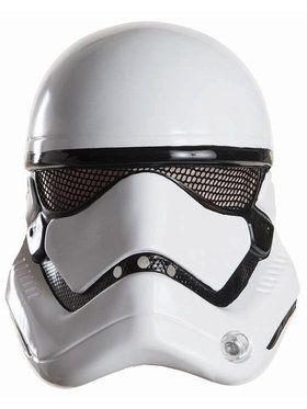 Star Wars: The Force Awakens Stormtrooper 2018 Halloween Masks for Adults