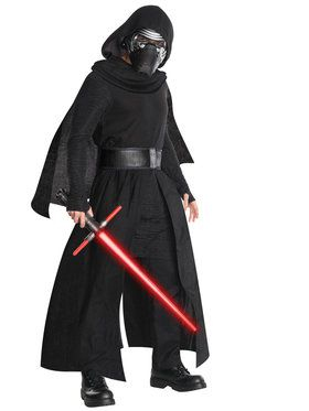 Star Wars The Force Awakens Super Deluxe Kylo Ren Costume for Adults