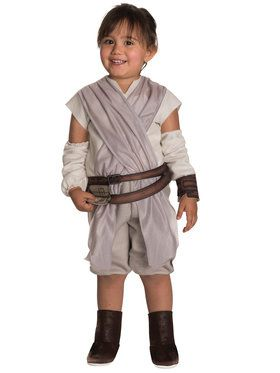 Star Wars The Force Awakens Rey Costume For Toddlers  sc 1 st  BuyCostumes.com & Baby and Toddler TV and Movie Costumes - Baby and Toddler Halloween ...