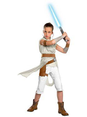 Star Wars The Rise of Skywalker Child Deluxe Rey Costume