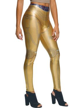 Star Wars C-3PO Leggings