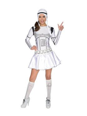 Star Wars Womens Female Storm Trooper Costume