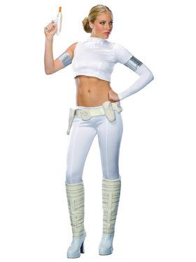Women's Two-Piece Star Wars Padme Amidala Costume