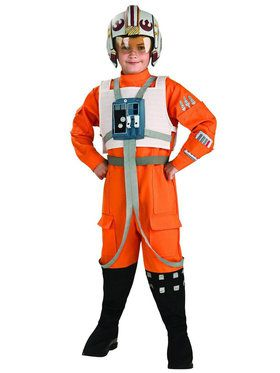 X-Wing Fighter Pilot (Star Wars) Costume for Kids