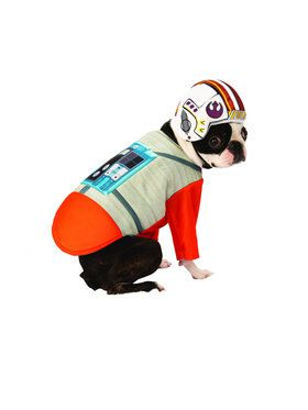 Star Wars X-Wing Pilot Costume for Pets