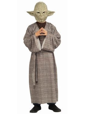 Child Star Wars Deluxe Yoda Costume