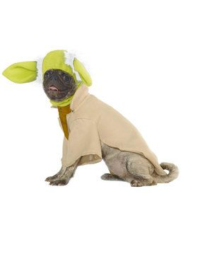 Star Wars Pet Yoda Costume