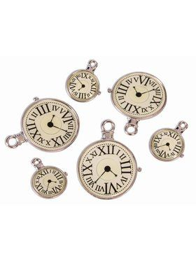 Steampunk Clock Charms