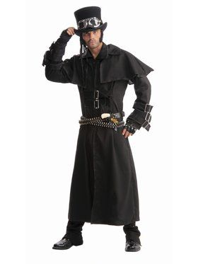 Steampunk Duster Coat Adult Costume