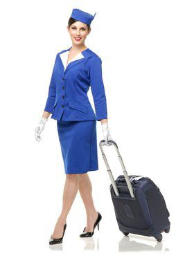Stewardess Adult Costume