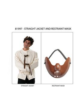 Straight Jacket and Restraint Mask