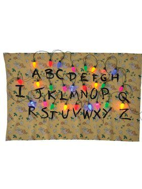 Alphabet Tapestry Stranger Things Accessory