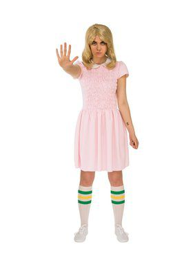 Adult Stranger Things: Eleven Pink Dress