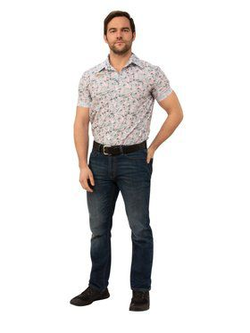 Stranger Things Jim Hopper's Hawaiian Look Outfit Adult Costume