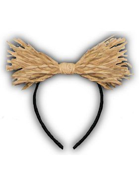 Straw Bow Headband