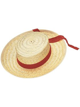 Straw Gondolier Hat Adult