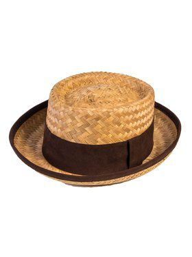 Skimmer Straw Hat