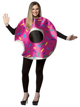 Strawberry Donut Adult Costume